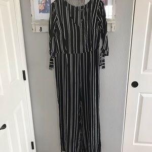 Target/Wild Fable Striped Jumpsuit
